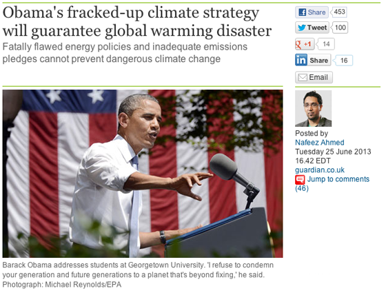 Will Obama Take Action on Climate Change?