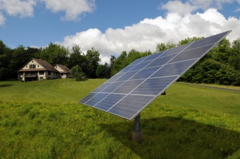 AllEarth Solar Trackers in Action
