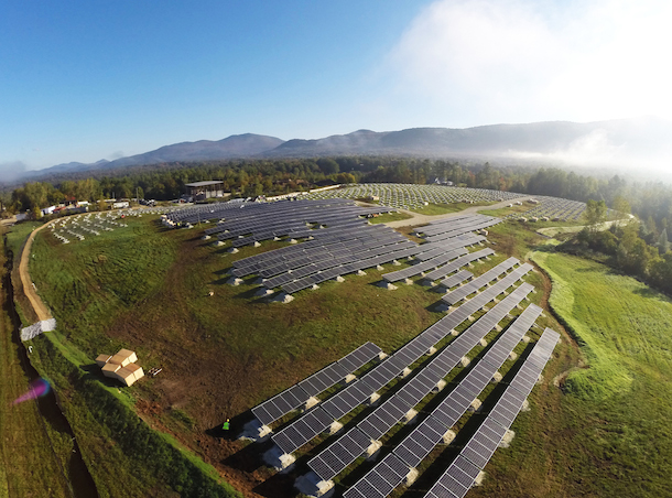 Leading Edge Vermont Solar Farm Wins 2015 Project of Distinction Award