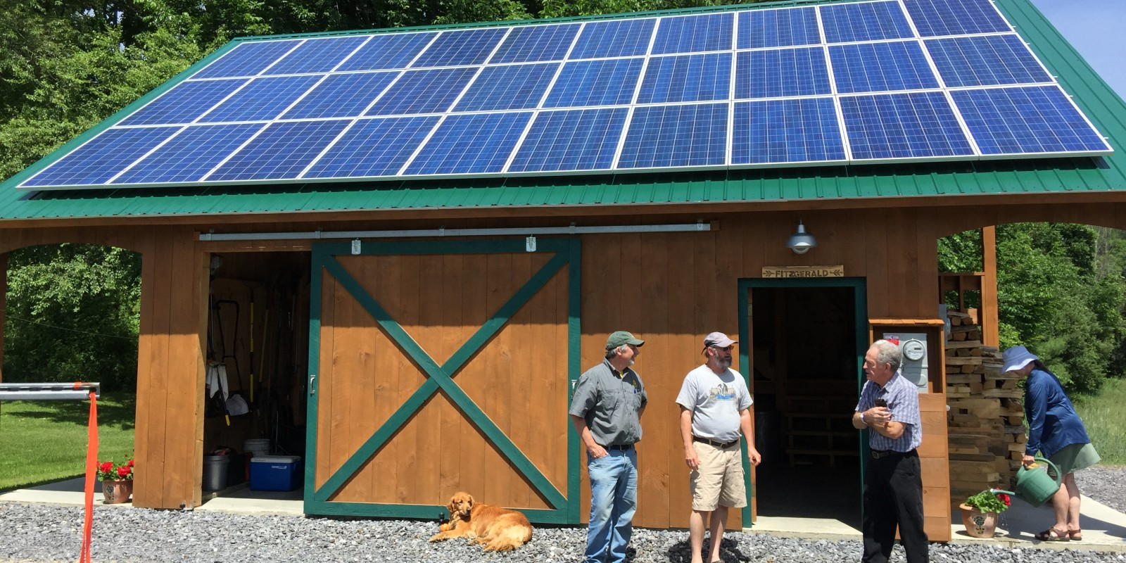 Catamount Solar project N. Tunbridge VT