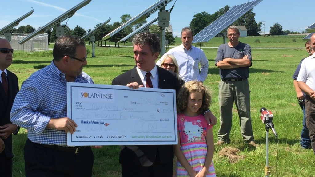 Make-A-Wish Vermont Benefits from Solar Project