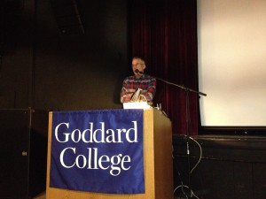 Bill McKibben at Goddard College