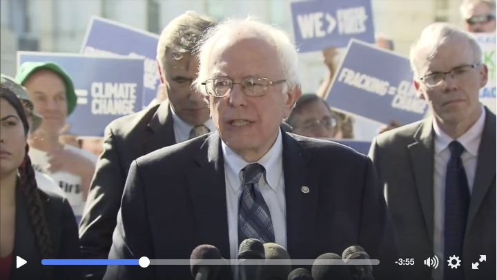 Keep it in the Ground with Bernie Sanders