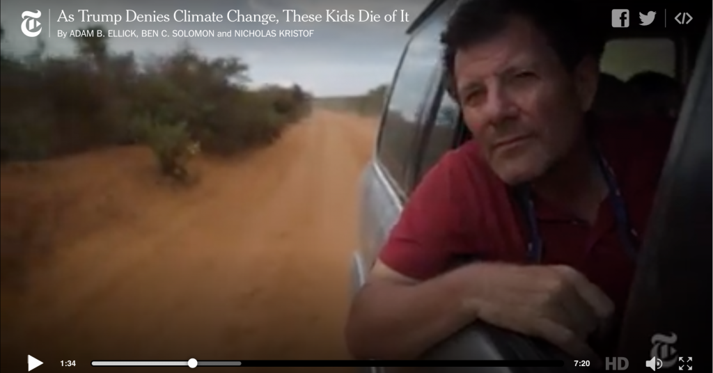 Deny Climate Change at Your Peril