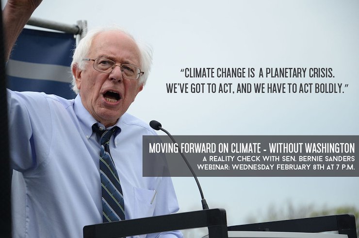 Bernie Sanders-Moving Forward on Climate Without DC