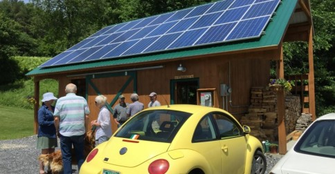 Solar power is under fire in Charlotte Vermont