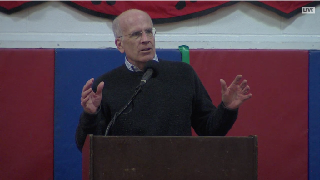 Vt Congressman Welch speaks on impeachment and more