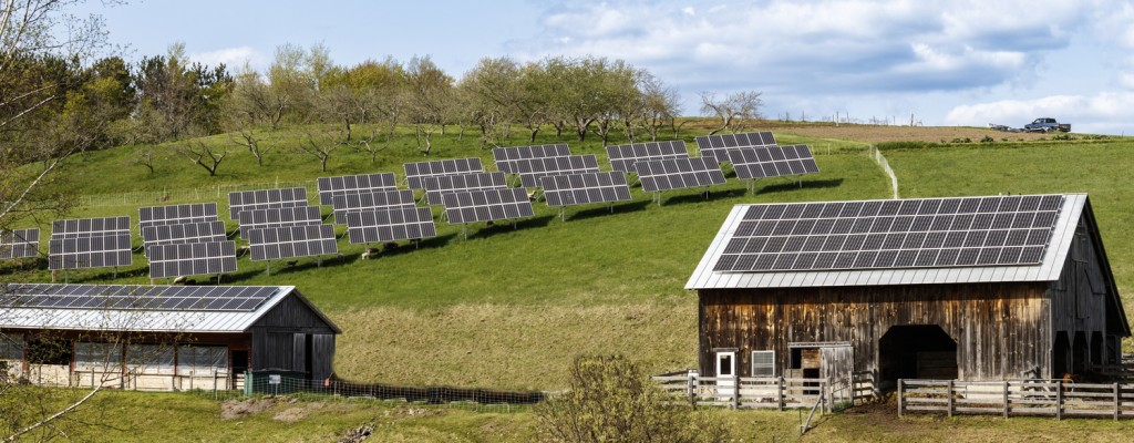One of Norwich Solar Technologies solar projects at The Mountain School, in Vershire Vermont.