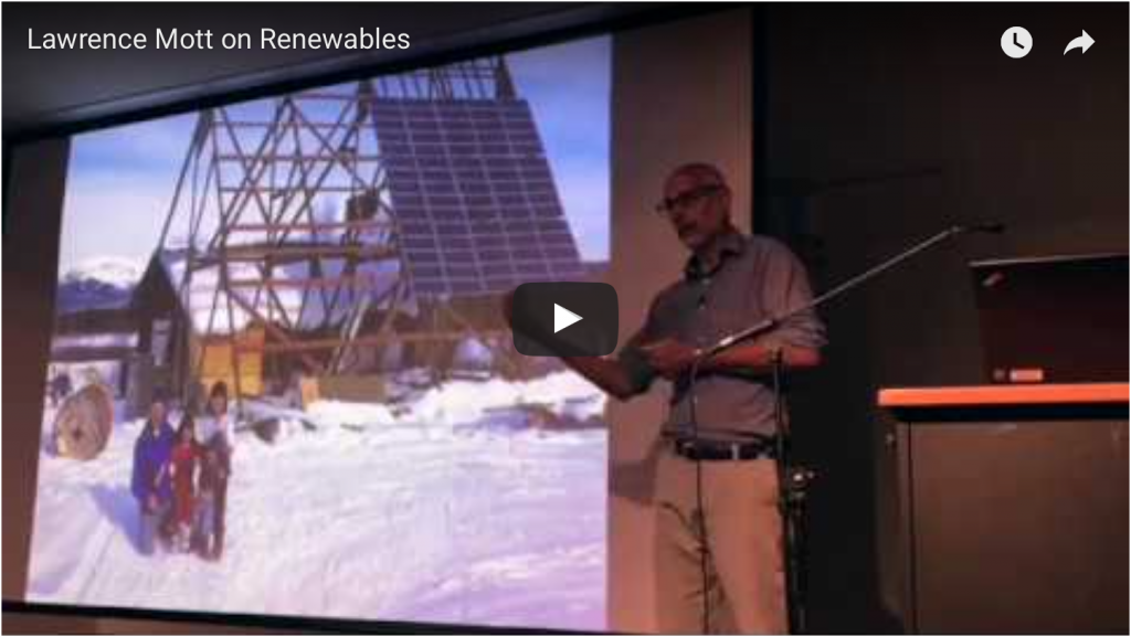 Current status of renewable projects here and abroad