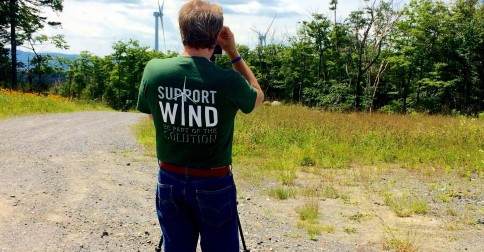 Join me for a tour of the Sheffield Wind Farm