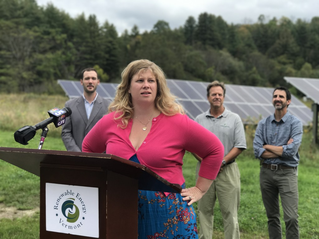 """The pollinator friendly solar pledge reflects one of many ways that renewable energy helps heal our environment and support farmers,"" said Olivia Campbell Andersen"