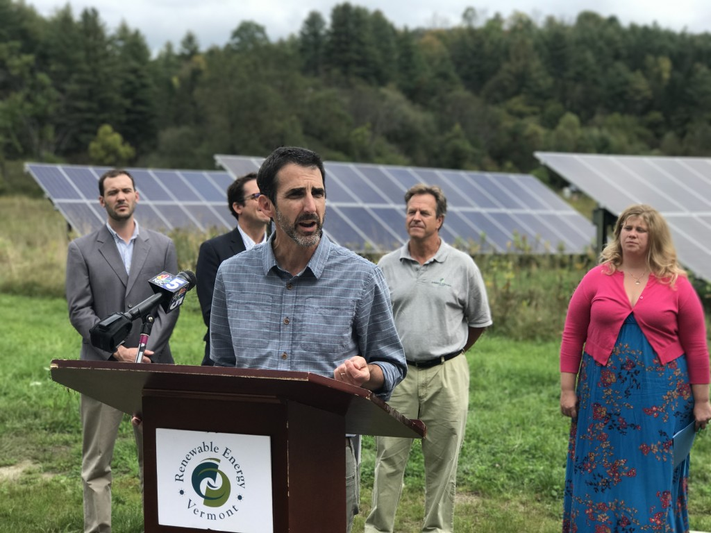 """Audubon's research has shown that half of Vermont's birds are threatened by climate change. We need to both enhance habitat and reduce the amount of carbon we are adding to the atmosphere around us,"""" said Jim Shallow, Audubon Vermont State Director."""