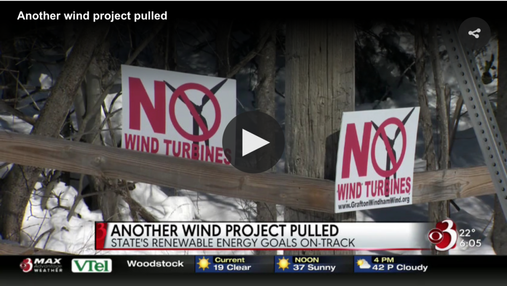 Vermont wind developer pulls the plug